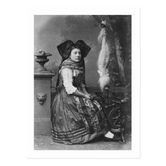 Alsace Costume Postcard