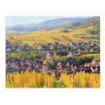 Alsace, France 6 Post Cards
