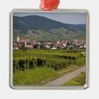Alsace, France Metal Ornament