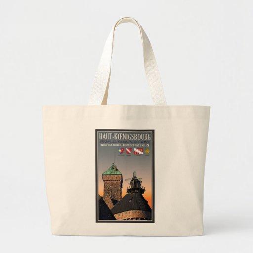 Alsace - Haut Koenigsbourg Large Tote Bag