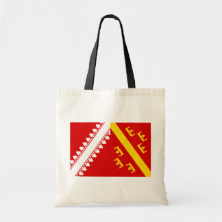 Alsace (Old), France flag Tote Bags