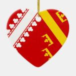 Alsace (Old), France flag Ornament