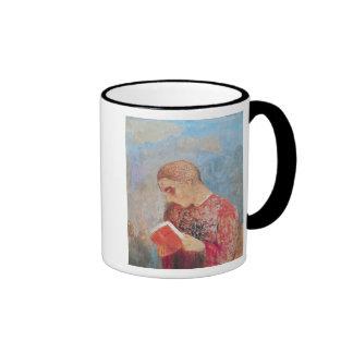 Alsace or, Monk Reading, c.1914 Ringer Mug