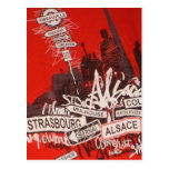 Alsace - postcard
