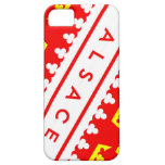 alsace province france country flag text name iPhone 5 covers