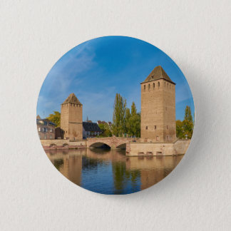 Alsace Strasbourg Henry Tower Pont Envelopes Button