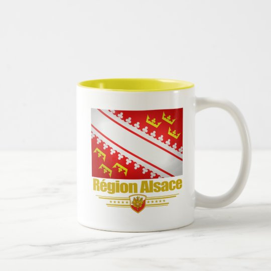 Alsace Two-Tone Coffee Mug