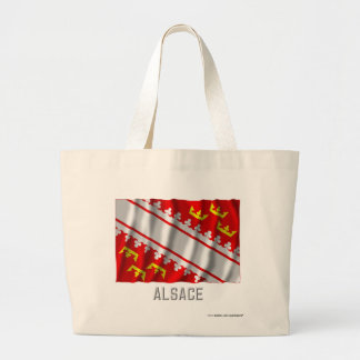 Alsace waving flag with name bags