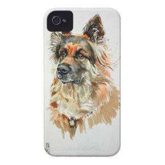 Alsatian Dog Blackberry Bold Case