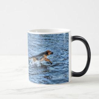 Alsatian German Shepherd 5 Dog-lover Gift Magic Mug