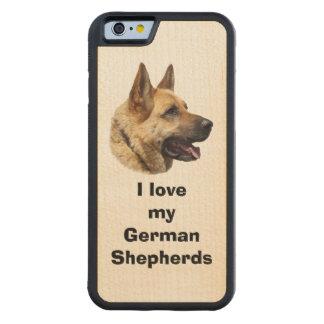 Alsatian German Shepherd dog Maple iPhone 6 Bumper Case