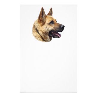 Alsatian German Shepherd dog Flyer Design