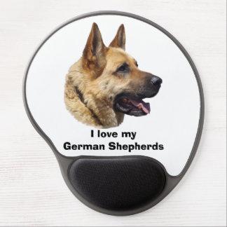 Alsatian German Shepherd dog Gel Mousepads