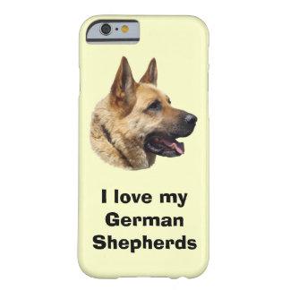 Alsatian German Shepherd dog iPhone 6 Case