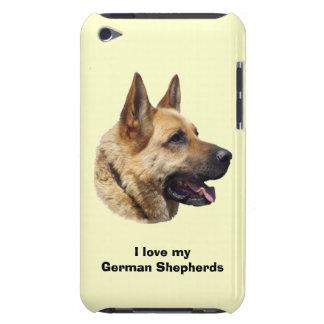 Alsatian German shepherd dog portrait Barely There iPod Case
