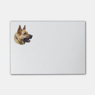 Alsatian German shepherd portrait Post-it® Notes