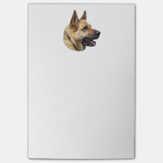 Alsatian German shepherd portrait Post-it® Notes