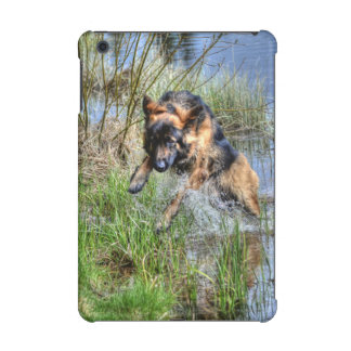 Alsatian Leaping from Water Animal-lover Dog Gift iPad Mini Case