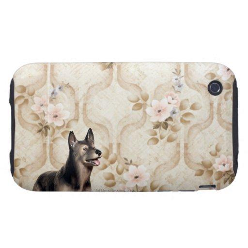 Alsation dog iPhone 3 tough cases