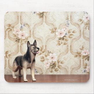 Alsation dog mouse pad