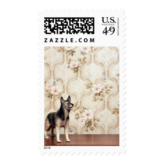 Alsation dog postage
