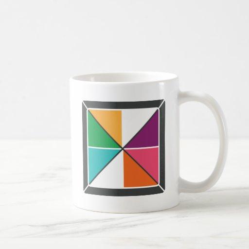 ALSC Pinwheel Classic White Coffee Mug