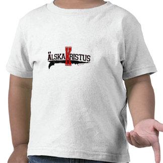 ¡Älska Kristus/amor Cristo! (Sueco) Camiseta