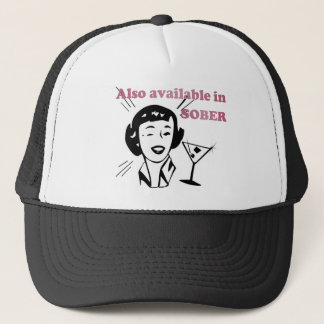 Also Available in SOBER - Drinking Retro Lady Trucker Hat