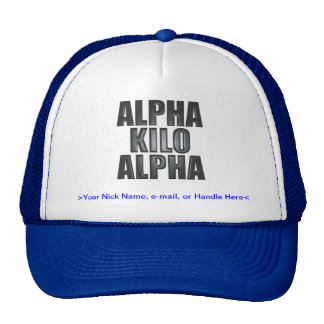 Also Known As Hat : NATO Phonetics