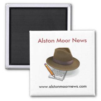 Alston amarra el imán del refrigerador de las noti