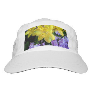 Alstroemeria and Lilac Hat
