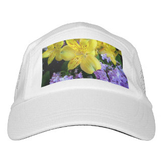 Alstroemeria and Lilacs Flowers Performance Hat