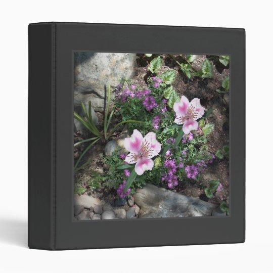 Alstroemeria Flowers Binder