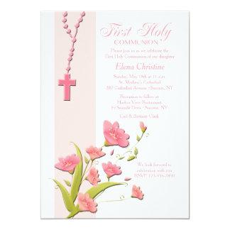 Alstroemeria Flowers Invitation