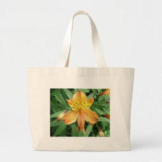 Alstroemeria Large Tote Bag