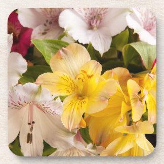 Alstroemeria (Peruvian Lily) Coasters