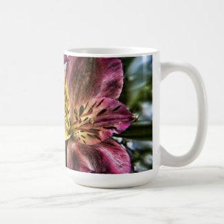 Alstroemeria Peruvian Lily flower mug