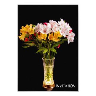 Alstroemeria (Peruvian Lily) Invitation
