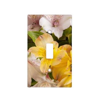 Alstroemeria (Peruvian Lily) Light Switch Cover