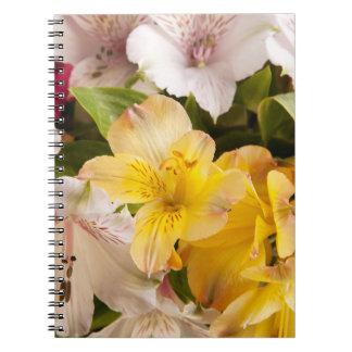 Alstroemeria (Peruvian Lily) Notebook
