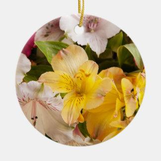 Alstroemeria (Peruvian Lily) Ornament