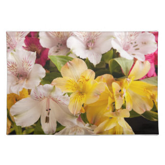 Alstroemeria (Peruvian Lily) Placemats