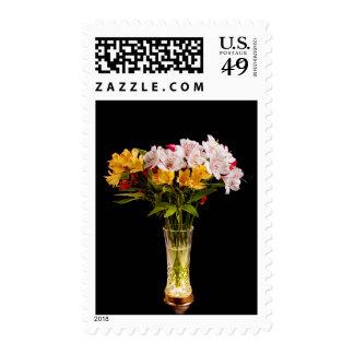 Alstroemeria (Peruvian Lily) Postage Stamp Postage
