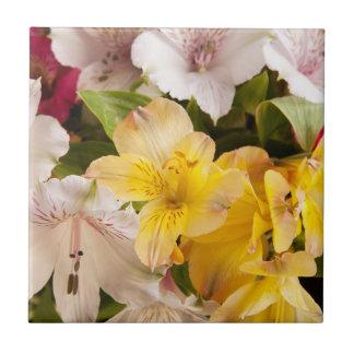 Alstroemeria (Peruvian Lily) Tile/Trivet