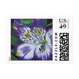 Alstroemeria Postage Stamps