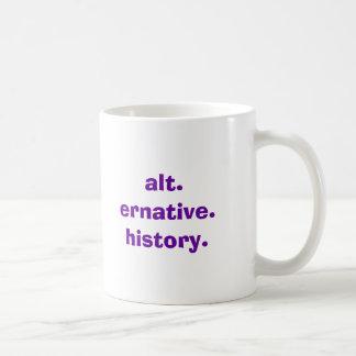 alt.ernative.history. taza básica blanca