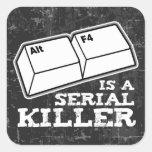 Alt F4 Is A Serial Killer Stickers