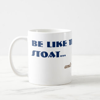 Alt Funny Stoat Weasel Woodland Animal Coffee Mug
