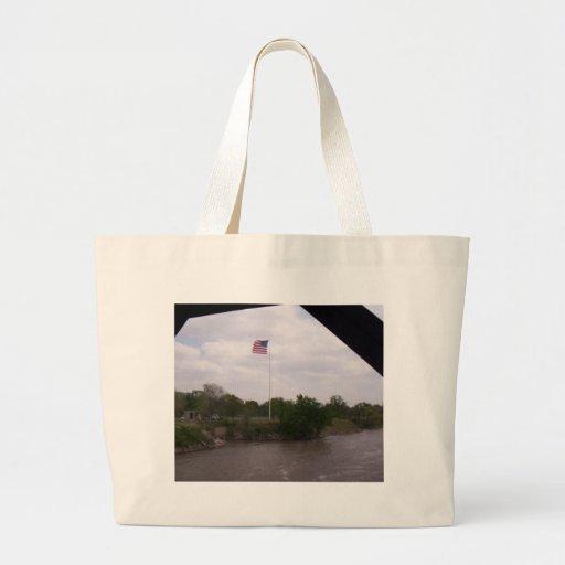 Alta bandera del vuelo bolsa