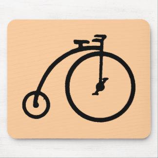 Alta bici del vintage alfombrillas de ratón